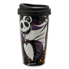 Disney Travel Mug - Jack Skellington - Nightmare Before Christmas