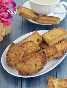 Healthy Foods for Kids, Indian Healthy Recipes for Kids, Tarla Dalal Bakery Recipes, Cookie Recipes, Cookie Ideas, Bread Recipes, Snack Recipes, Tea Rusk Recipe, Milk Powder Recipe, Eggless Baking, Eggless Recipes