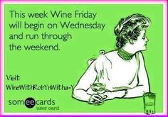 Wine Wednesday, Someecards, Humor, Memes, Glitters, Funny Stuff, Bubbles, Clock, Age