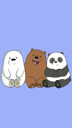 Baby we bare bears.