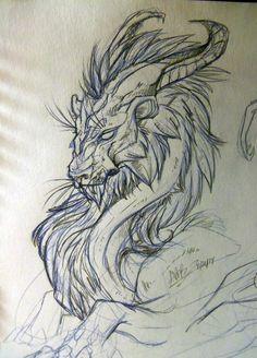 Dragon#05 by Spiney-Artz