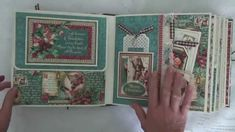 """Graphic 45 """" A Christmas Carol"""" Design Team project for Country Craft Creations, also a custom order."""