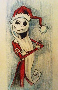 Nightmare Before Christmas santa 656x1024 WOD 24 DEC 2011  Nightmare Before Christmas