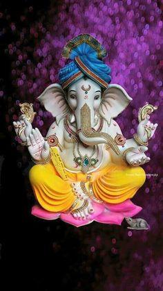 LORD GANESHA. Jai Ganesh, Ganesh Lord, Ganesh Idol, Shree Ganesh, Ganesha Art, Shri Ganesh Images, Ganesha Pictures, Lord Krishna Images, Bal Krishna