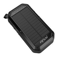Solar Charger, Epai 8000mAh Portable Solar Power Bank Waterproof 3-Port USB Solar Panel Charger With 21LED Light Carabiner For Emergency Outdoor Camping for cell phone,iPhone,iPad, Android phones  http://topcellulardeals.com/product/solar-charger-epai-8000mah-portable-solar-power-bank-waterproof-3-port-usb-solar-panel-charger-with-21led-light-carabiner-for-emergency-outdoor-camping-for-cell-phoneiphoneipad-android-phones/  Solar Charger 8000mah External Backup Power Bank 3 Po