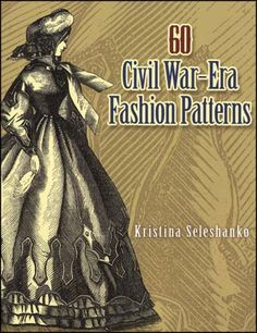 "Assembled from vintage issues of ""Peterson's Magazine,"" a popular 19th century ladies periodical premiering in 1842, this book is an authentic gallery of Civil War-era for women. Includes basic patterns for:  Chemise Ladies Zouave jacket Saratoga dress Polonaise dinner dress Night cap Illinois dress Waisted Zouave jacket Madeline wrapper Fall Paletot Naim cloak Lady's drawers Princess Alice dress body Anklets French guard jacket, Adolphe coat, Empress jacker Spanish jacket Train skirt and…"