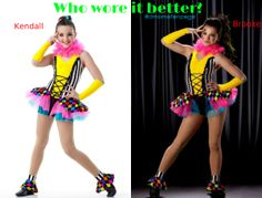 comment who you think wore it better first to get 4 wins