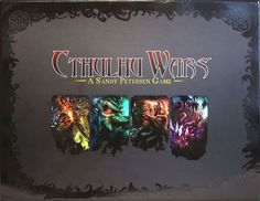 Cthulhu Wars is a strategy boardgame in which the players take the part of alien races and gods taken from the Cthulhu mythos created by H. P. Lovecraft. The game is physically large, and includes sixty-four figurines of the cultists, monsters, aliens, and Great Old Ones that range in height from approximately 20 mm to nearly 180 mm. The game takes place on a map of Earth. Each player takes the part of one of four factions included in the base game. At the start of a turn, players Gather…