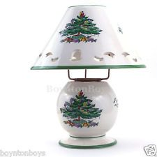 RARE Spode Christmas Tree Pierced China Lamp for Tea Light Candle Votive for sale online Christmas China, Spode Christmas Tree, Christmas Tree Design, Christmas Dishes, Vintage Christmas, Christmas Ideas, Candle Lamp, Votive Candles, Christmas Table Settings