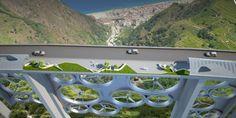 A Solar Park South é uma ponte que tem estufas de alimentos orgânicos, painéis de energia solar e turbinas de geração de energia eólica. Confira!