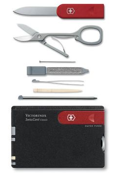 SwissCard Classic - Black Red (0.7103)