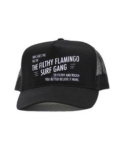 Don't Blow This. Your Closet Thanks You. Join the Filthy Flamingo Surf Gang