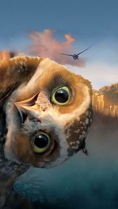 Legend of the Guardians: The Owls of Ga'Hoole. I love owls. They are such beautiful creatures. Griffin and I dissected a Owl pellet. cool as beans. Animals And Pets, Baby Animals, Funny Animals, Cute Animals Images, Beautiful Owl, Animals Beautiful, Pretty Animals, Funny Owls, Owl Bird