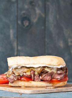 Grilled Flank Steak Sandwich