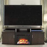 Found it at Wayfair - Carson TV Stand with Electric Fireplace