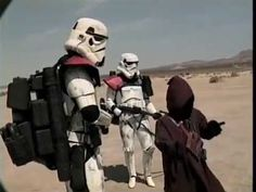 """Star Wars: Troops   [HQ]; a clever mashup of Star Wars and the TV show, """"Cops."""""""