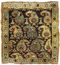 Antique Rugs and Carpets - Rug - Antique Kurdish Origin: Persian Size: Rugs Width: 2 in. Length: 4 in. Art Chinois, Affordable Rugs, Interior Rugs, Art Japonais, Square Rugs, Indian Rugs, Transitional Rugs, Accent Rugs, Persian Carpet