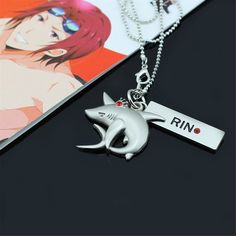 Relaxcos Free! Iwatobi Swim Club Rin Necklace Accessory Cosplay *** Read more reviews of the product by visiting the link on the image.