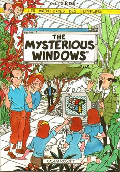Les Aventures de Tintin - Album Imaginaire - The Mysterious Windows