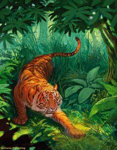 Tiger Art, Artwork, Work Of Art, Auguste Rodin Artwork, Artworks, Illustrators