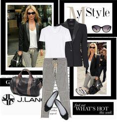 """""""Kate Moss, Looking Fashion Fabulous And Oh So Chic."""" by irishrose1 ❤ liked on Polyvore"""