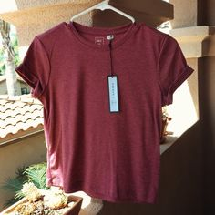 PacSun Me to We Tee Brand-new cotton PacSun me to we slightly cropped top. In perfect condition and has never been worn i'm just getting rid of this shirt because it's too small for me. Feel free to make an offer or ask any questions! PacSun Tops Tees - Short Sleeve
