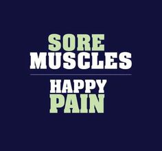 What Causes Muscle Soreness After a Workout, and What Can Be Done for Relief? Try these awesome tips designed to decrease normal muscle soreness! Fitness Motivation, Fitness Quotes, Daily Motivation, Weight Loss Motivation, Workout Quotes, Fitness Humor, Exercise Motivation, Running Motivation, Exercise Quotes