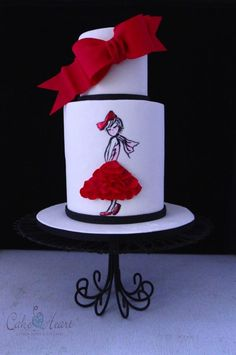 chic girl - Cake by Cake Heart