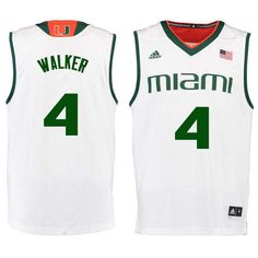 8ef7a535efb Men #4 Lonnie Walker Miami Hurricanes College Basketball Jerseys Sale-White