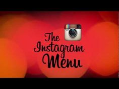 Instagram Menu. Un restaurant New-Yorkais utilise Instagram pour socialiser les recommandations de ses clients. #RedAgency