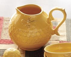 Honey Butter Tableware: Pitcher