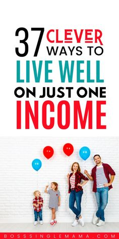 Live well on one income when you don't have a lot of money. Make living on one income work with these frugal hacks. Never feel broke again! Best Money Saving Tips, Ways To Save Money, How To Get Money, Money Tips, Earn Money, Saving Money, Money Fast, Frugal Family, Frugal Living Tips