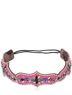 Pin for Later: Your Next Hair Accessory Might Come From Your Sewing Box  Deepa Gurnani Path Of Colors Beaded Headband (£104)