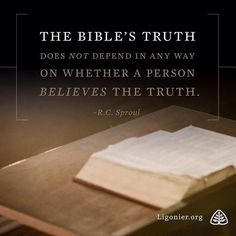 The Bible's truth does not depend in any way on whether a person believes the truth. Faith Quotes, Bible Quotes, Bible Verses, Scriptures, Godly Qoutes, Biblical Quotes, Christian Faith, Christian Quotes, Christian Pictures