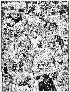 Marvel & Dc Heroes by John Byrne