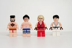 LEGO Street Fighter 2 Minifigs