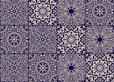 arabesque-arabic-tile-vinyl-flooring-blue.jpg (2728×1974)