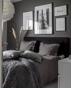 home bedroom Interior / Scandi / home a - Room Ideas Bedroom, Dream Bedroom, Home Decor Bedroom, Scandi Home, Modern Master Bedroom, Grey Bedroom Design, Grey Bedrooms, My New Room, Home Decor Styles