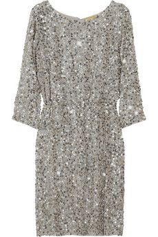 5c8dcc8628b Alice + Olivia - Ritchie sequined silk-crepe dress