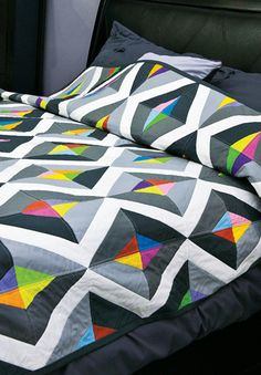 Prism Quilt (no pattern, inspiration only)