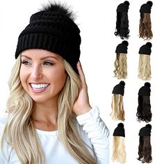 New Hair, Your Hair, Hairpieces For Women, Curly Hair Styles, Natural Hair Styles, Wig Hat, Pigtail Braids, Long Wavy Hair, Damaged Hair