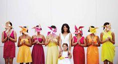 Creative Ideas for Destination Wedding Bouquets   Wedding Flower Alternatives   Pinwheel Bouquets