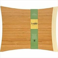 """Bamboo 15"""" x 10.75"""" Large Cutting Board by Moso Bambooware. $30.99. Height: 0.60000002. Design is stylish and innovative. Satisfaction Ensured.. Great Gift Idea.. Length: 16. Width: 12.5. Premium bamboo construction that won't dull knives. Environmentally friendly - Bamboo is 100% renewable . Sleek surface is easy to clean - Hand washing recommended . World Wild Life Fund approved and supported. Length: 16. Width: 12.5. Height: 0.60000002"""