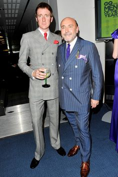 """""""Martin is obsessed with clothes."""" {Mark Powell Bespoke Tailoring - GQ.COM (UK)"""
