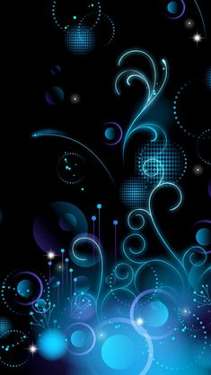 Blue pattern | #wallpapers #iphone