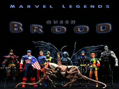Marvel Legends Queen Brood Series  // Pinned by: Marvelicious Toys - The Marvel Universe Toy & Collectibles Podcast [ m a r v e l i c i o u s t o y s . c o m ]