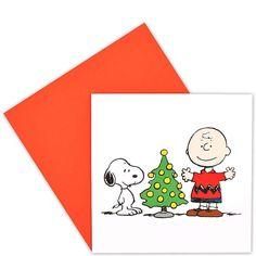 CARD Snoopy & Charlie Baum    Traditionelle Weihnachtsmotive in hochwertiger fotografischer Umsetzung - da kommt festliche Stimmung auf. Die Klappkarten sind innen blank, ein passender Umschlag gehört dazu. Wählen Sie aus verschiedenen Winter- bzw. Weihnachtsmotive Ihre persönlichen Favoriten.    Größe: Breite 12,4 x Höhe 12,8 cm...