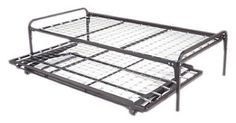 "Trundle Bed Pop-up, High Rise, Top Spring Combo Package by BedFrameParts. $688.85. Convenient, storable sleeping surfaces designed for long life and safety.. Accomodates Standard Twin Mattresses. Easy Operation to create sleeping area the same as a King size bed. All Steel Twin Trundle Pop-up Unit + Twin Top Spring + Metal Arms. Complete Trundle & Spring Combination Pkg. as pictured. 39"" Wide - BEST SELLER Combination Top Spring, Pop-Up & Trundle Arms (Standard Twin Size). Combin..."