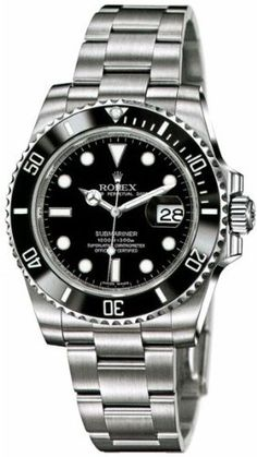 NEVER WORN ROLEX SUBMARINER MENS WATCH 116610 Price Β£7800 http://www.thesterlingsilver.com/product/michael-kors-mk6117-39mm-silver-steel-bracelet-case-mineral-womens-watch/