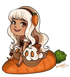 Carrot+Cake+by+momofukuu.deviantart.com+on+@deviantART